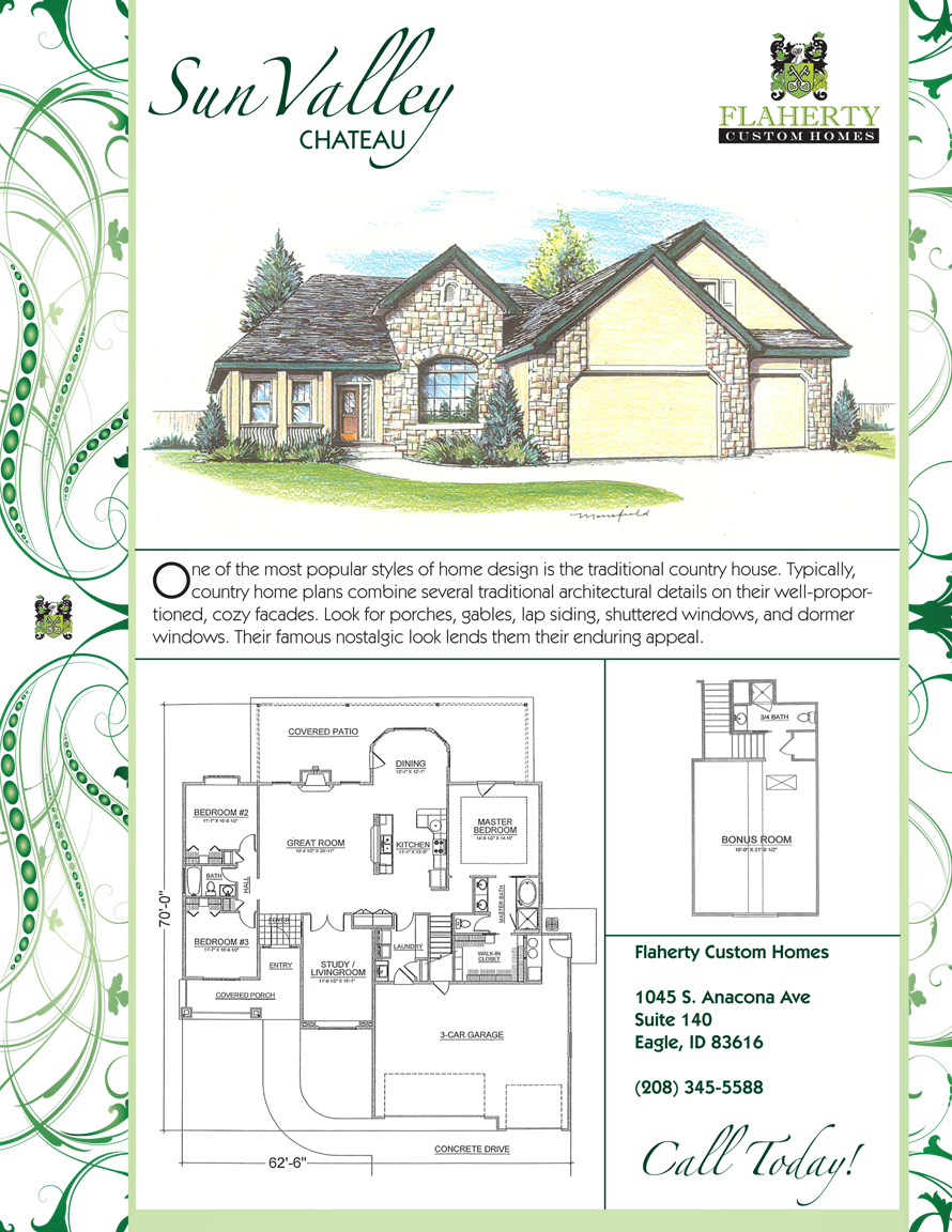 Sun Valley Chateau Floorplan